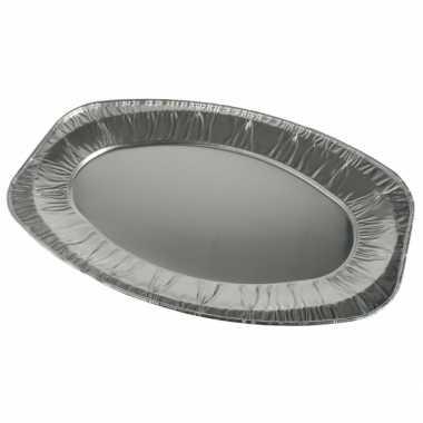 Goedkope  Aluminium saladeschalen 3 stuks barbecue