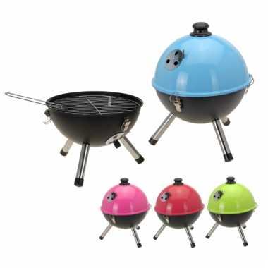 Goedkope Balvormige Barbecue Roze 33