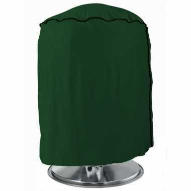Goedkope beschermhoes groen rond bbq barbecue