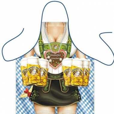 Goedkope  Funartikel schorten Oktoberfest Frau barbecue
