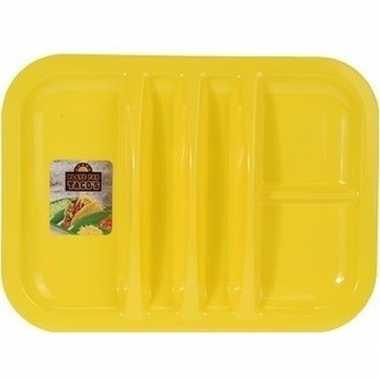 Goedkope geel bord 5 vakken 26 barbecue