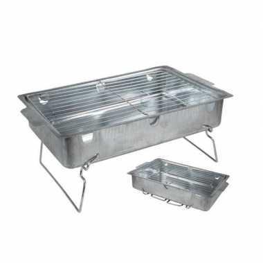 Goedkope houtskool barbecue / tafelbarbecue 42 27 18