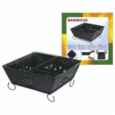Goedkope  Metalen BBQ opvouwbaar 24 barbecue