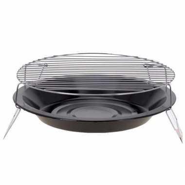 Goedkope metalen bbq zwart 36 barbecue