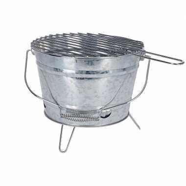 Goedkope metalen emmer bbq zink 28 barbecue