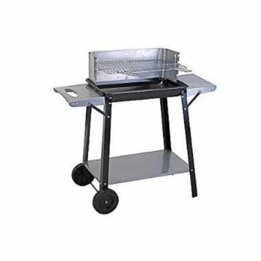 Goedkope rechthoekige verrijdbare barbecue