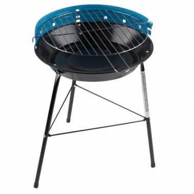 Goedkope  Ronde barbecue blauw