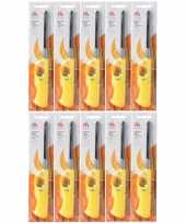 Goedkope 10x navulbare bbq aansteker geel 26 barbecue