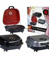 Goedkope tafel barbecue koffer rood 41 42
